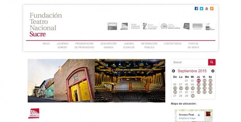 Fundación Teatro Nacional Sucre
