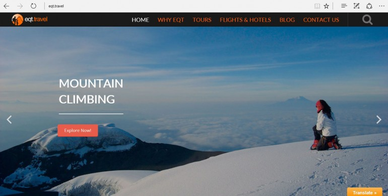 Eqt – The travel adventure specialist