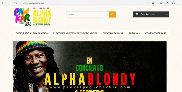 Pawkar Raymi 2016 – Preventa ONLINE